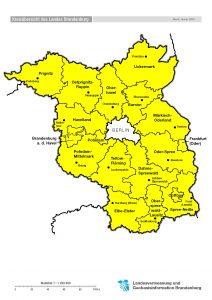 Landul Brandenburg Brandenburg Centru Partnerregionen